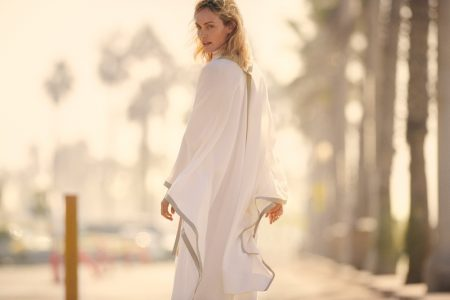 Agnona enlists Amber Valletta for its spring-summer 2019 campaign