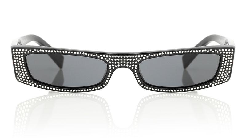 Alain Mikli x Alexandre Vauthier Edwidge Sunglasses with Crystals $433