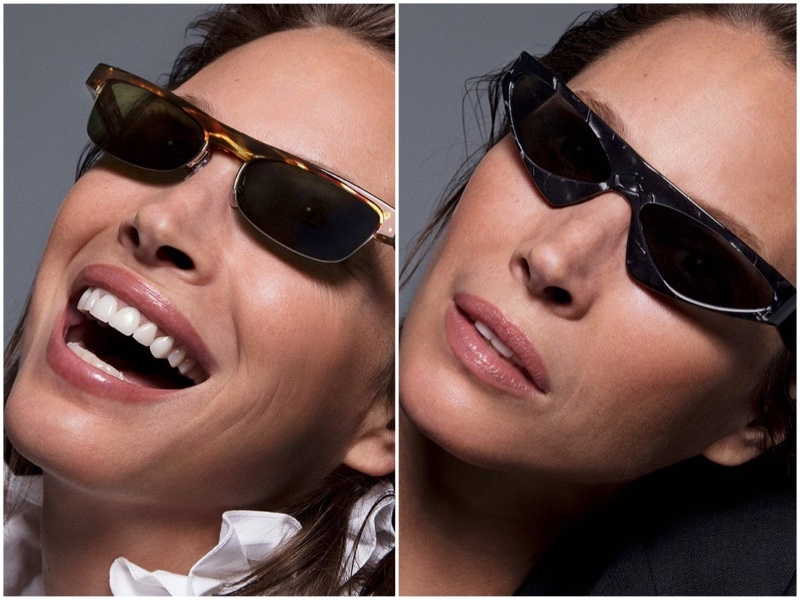 Christy Turlington Gets Her Closeup in New Eyewear Campaign
