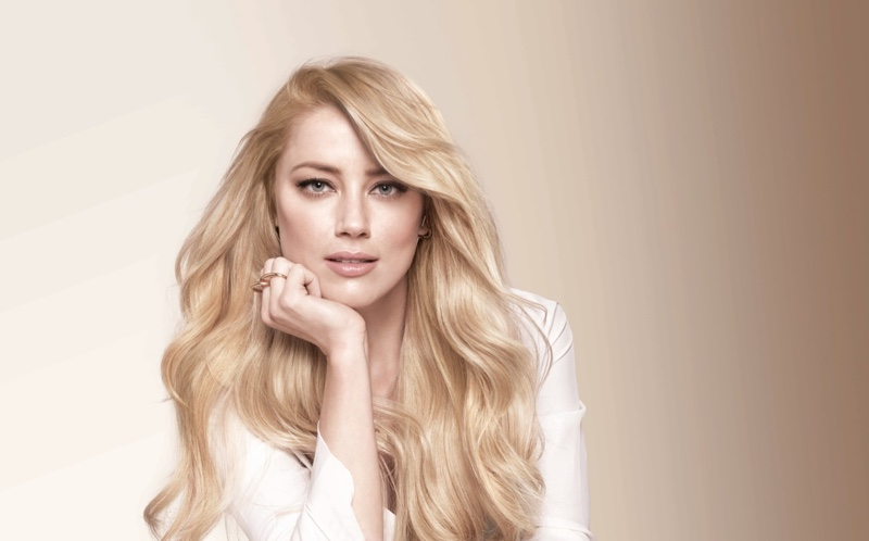 Amber Heard stars in L'Oreal Paris Superior Preference Hair Color campaign