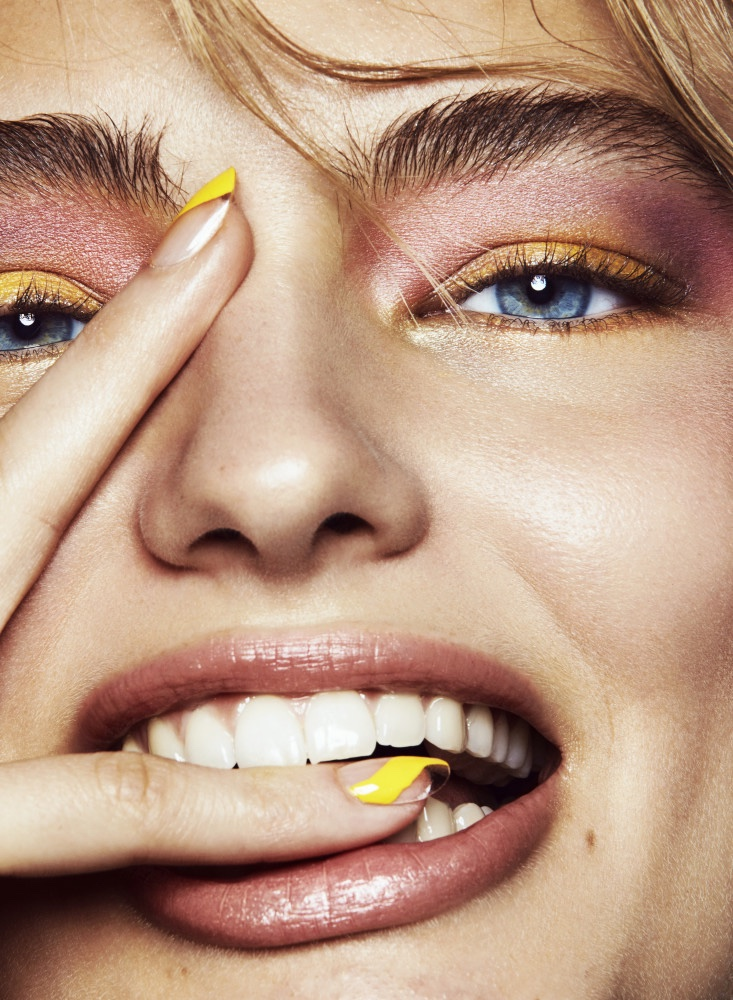 Anna Mila Guyenz Wears Bold Beauty for Vogue Mexico