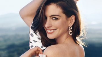 Anne Hathaway Charms for the Pages of Town & Country Magazine