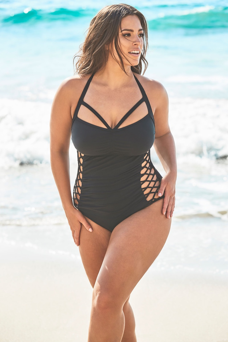 Ashley Graham flaunts her curves in Swimsuits For All 2019 collection