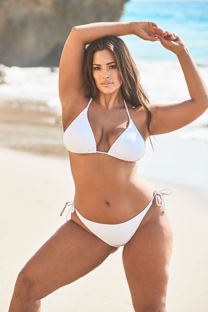 Ashley Graham's famous curves have landed her a Sports Illustrated: Swimsuit Issue cover in 2016. She would later go on to collaborate with size-inclusive swimwear label Swimsuits For All on designs. Ashley also appeared in campaigns for brands like Dolce & Gabbana, Nordstrom and Lane Bryant.