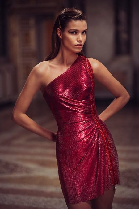 Atelier Versace Dazzles with Spring 2019 Designs