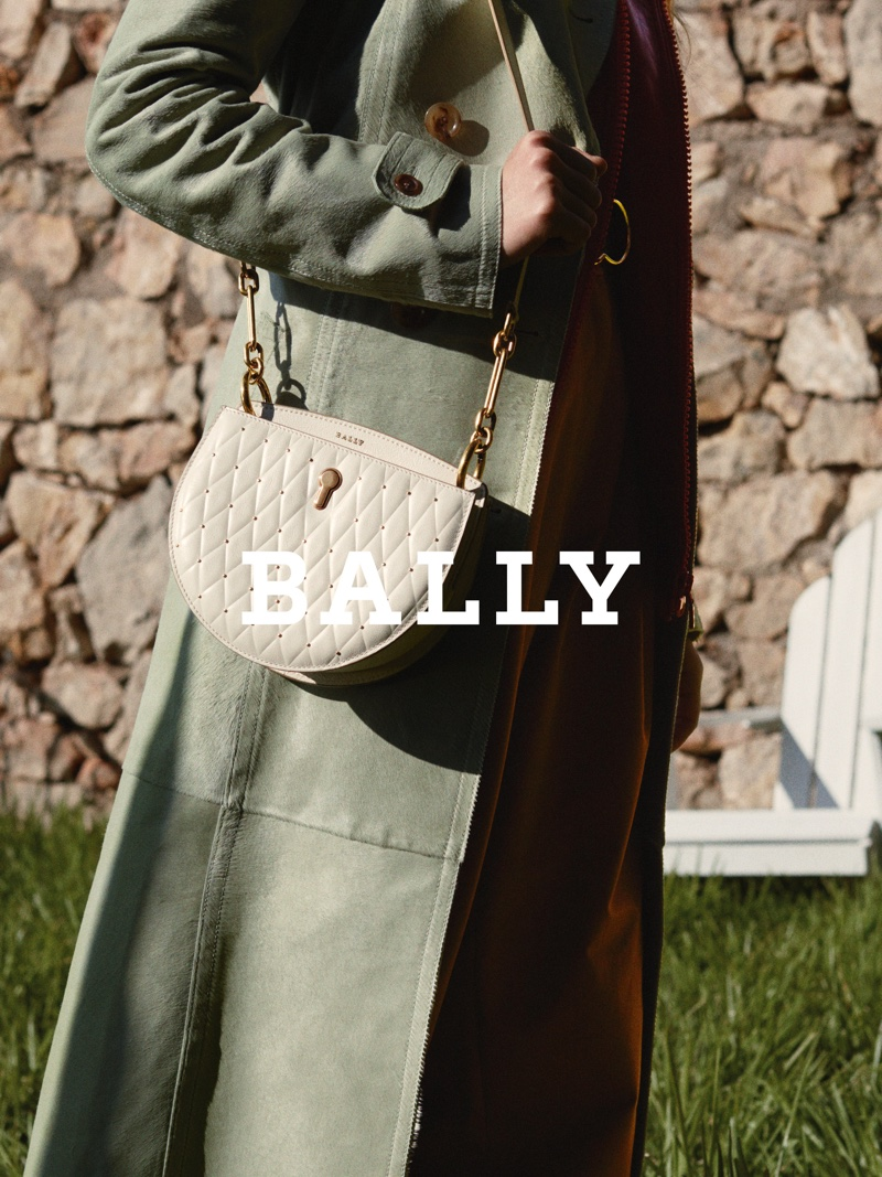 An image from the Bally spring 2019 advertising campaign