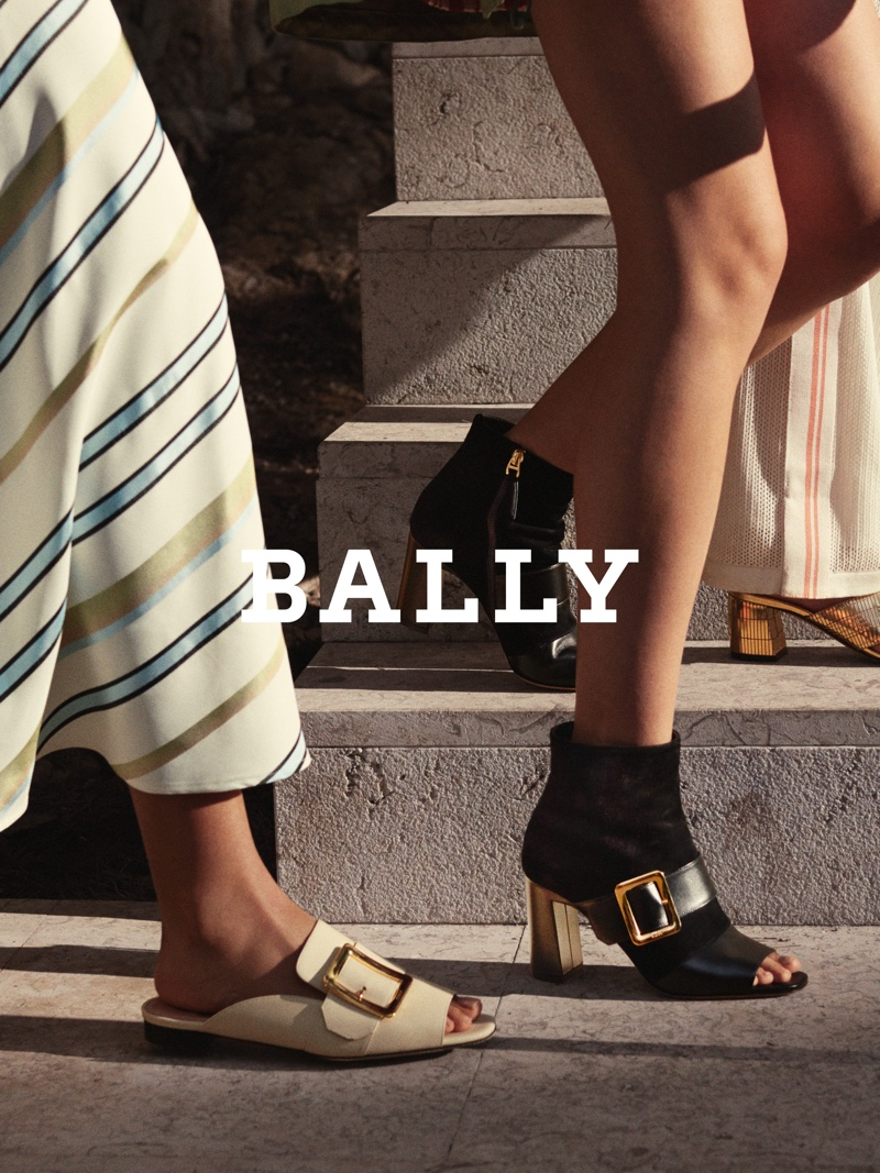 Shoes take the spotlight for Bally spring-summer 2019 campaign