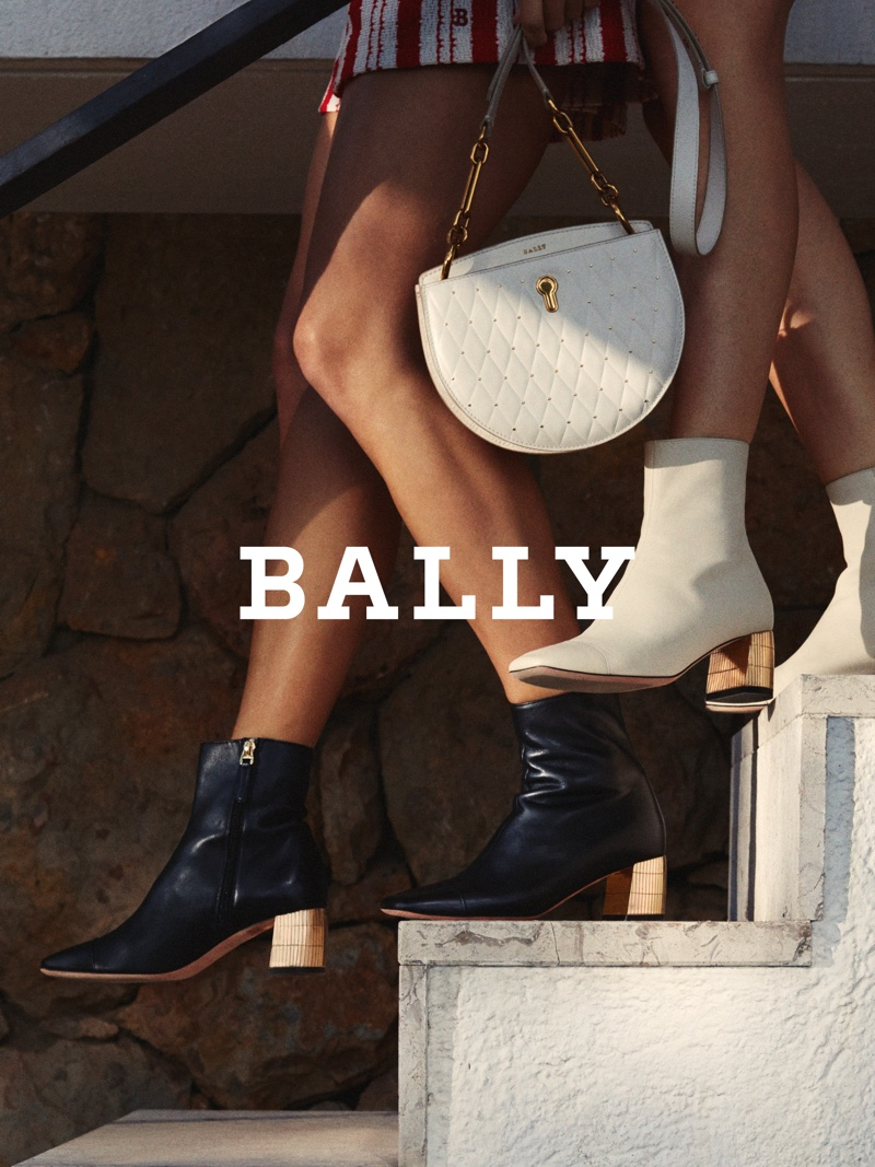 Boots and leather goods appear in Bally spring-summer 2019 campaign