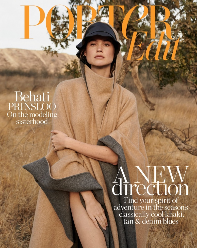 Behati Prinsloo is a Natural Beauty in PORTER Edit
