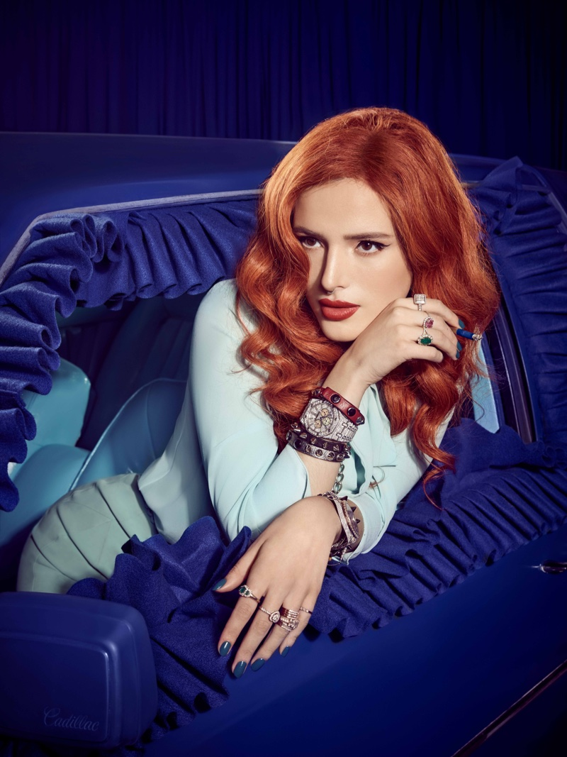 Actress Bella Thorne poses for Gay Times