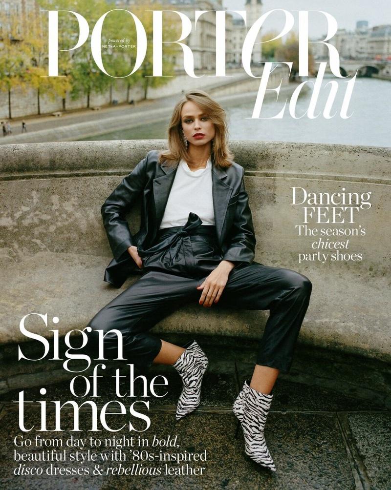Birgit Kos Wears Effortlessly Cool Looks for PORTER Edit
