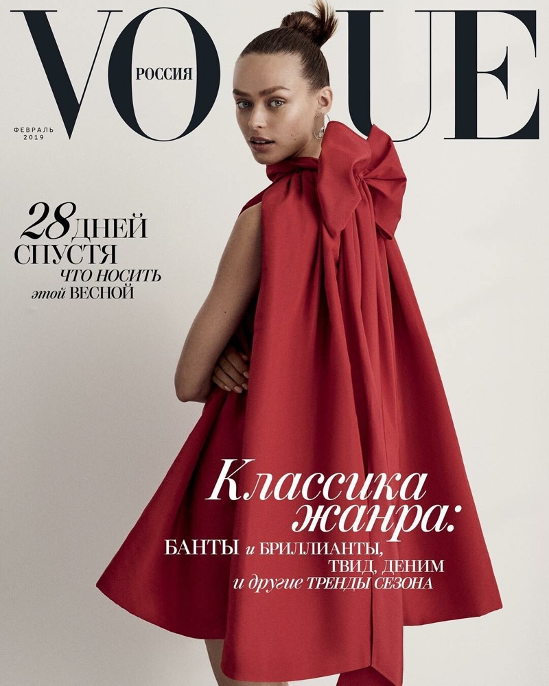 Birgit Kos Gets Glam in the Spring Collections for Vogue Russia