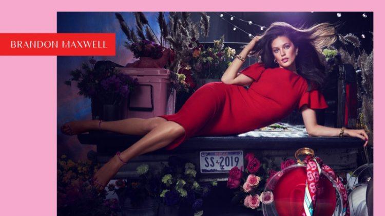 Emily DiDonato stars in Brandon Maxwell spring-summer 2019 campaign