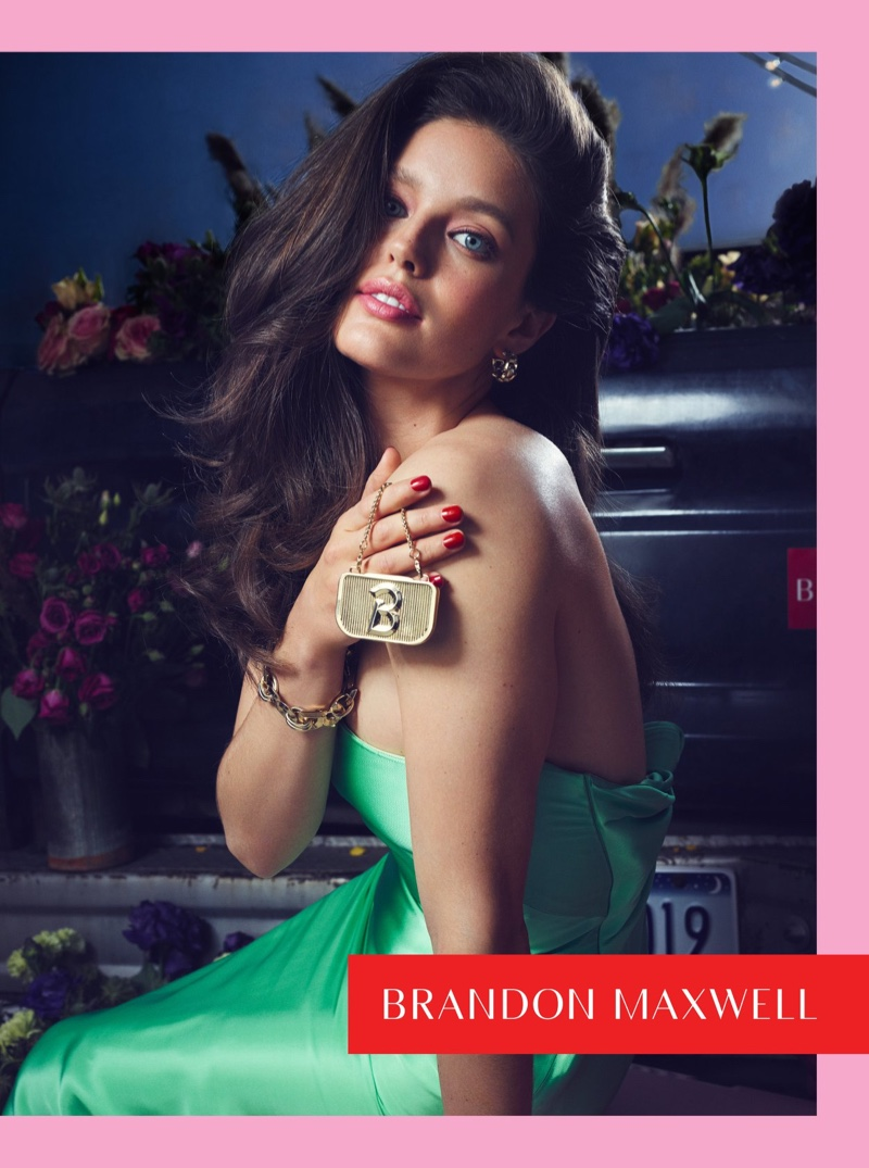 Emily DiDonato appears in Brandon Maxwell spring-summer 2019 campaign