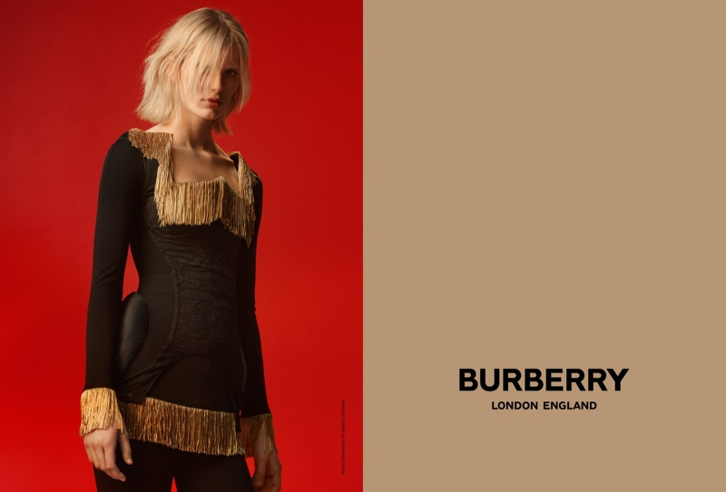 Claudia Lavender fronts Burberry spring-summer 2019 campaign