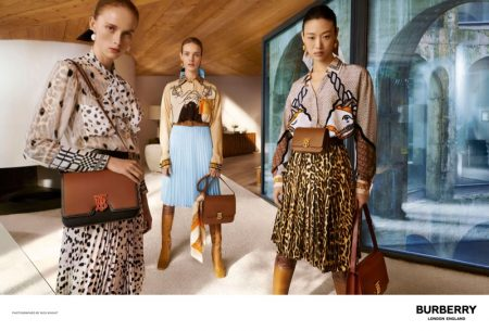 Burberry unveils spring-summer 2019 campaign