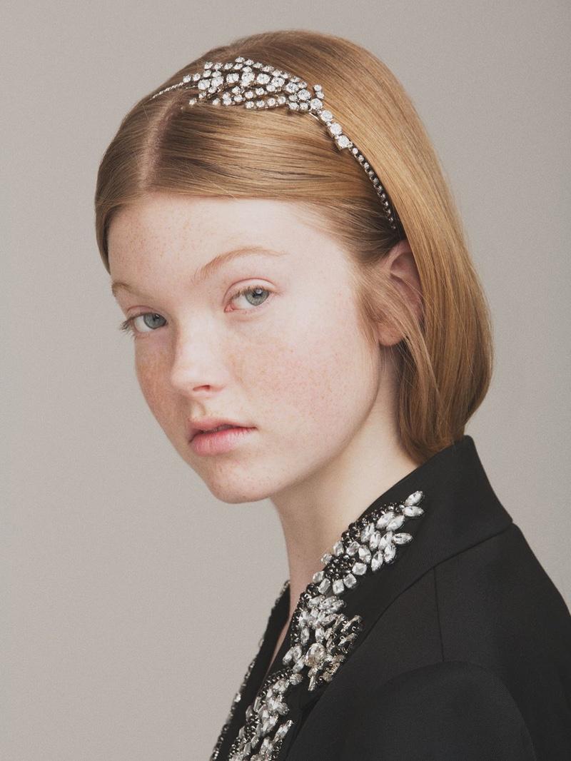 CA&LOU Angelica Crystal Headband $224