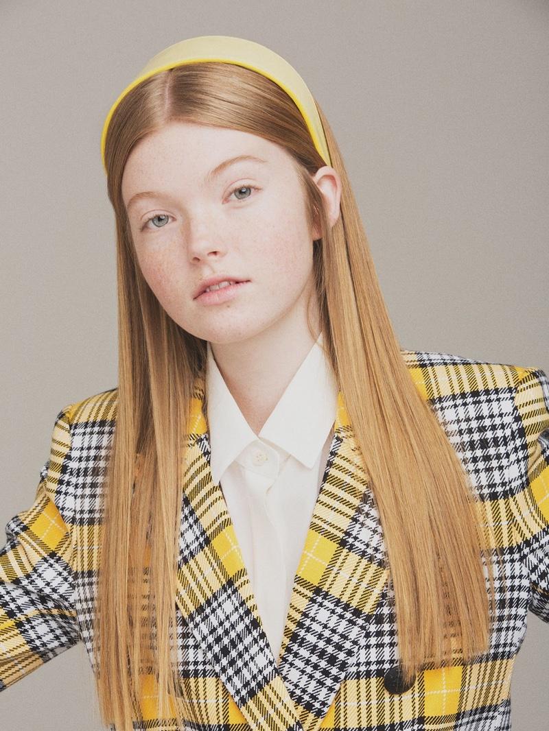 CA&LOU Anastasia Faux Leather Headband $192