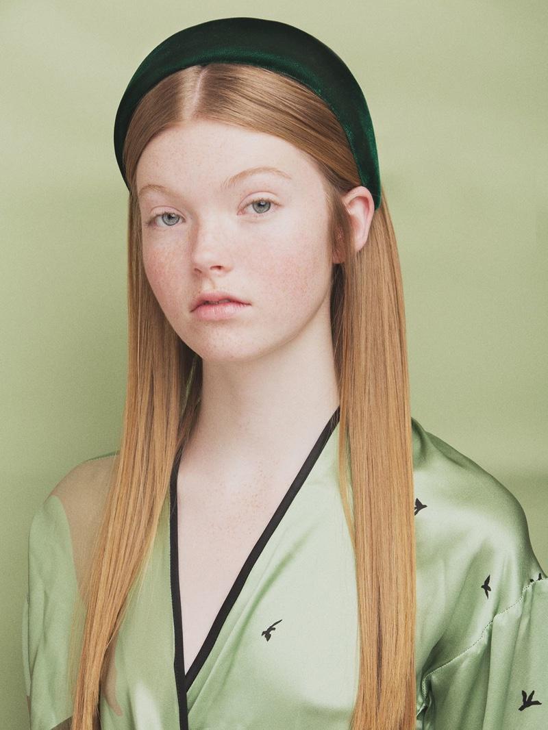 CA&LOU Anastasia Velvet Effect Headband $192