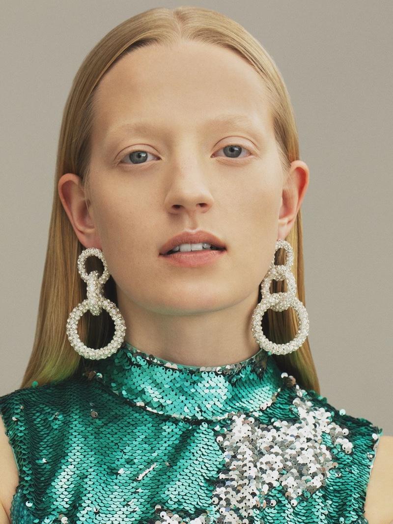 CA&LOU Gio Chain Earrings $269