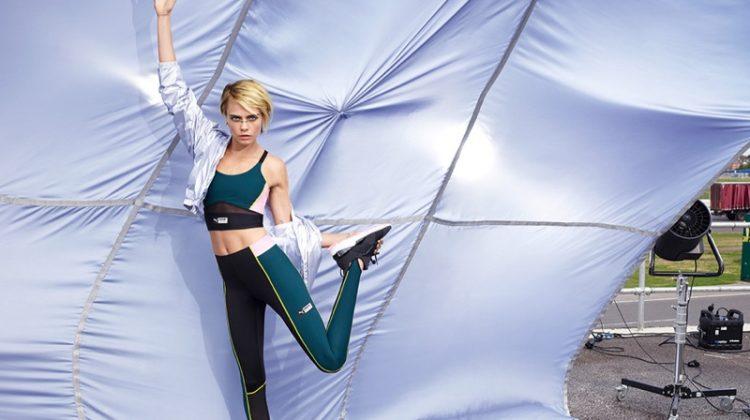 PUMA brand ambassador Cara Delevingne appears in Muse Trailblazer campaign