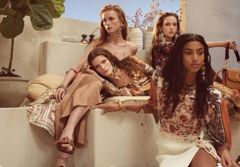 Steven Meisel photographs Chloe spring-summer 2019 campaign