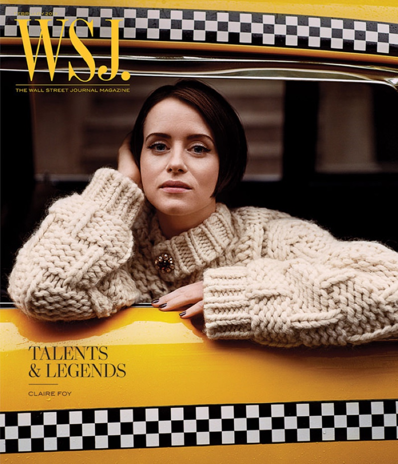 Claire Foy on WSJ. Magazine February 2019 Cover