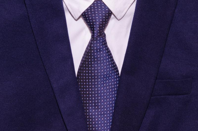 Men's Tie Closeup