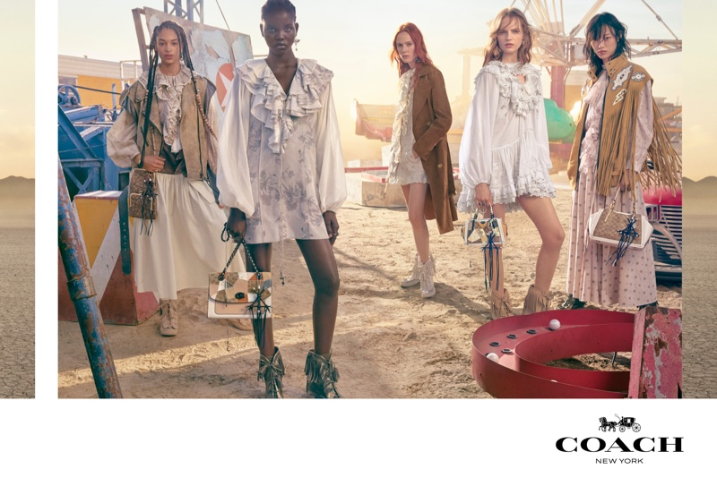 Coach unveils spring-summer 2019 campaign