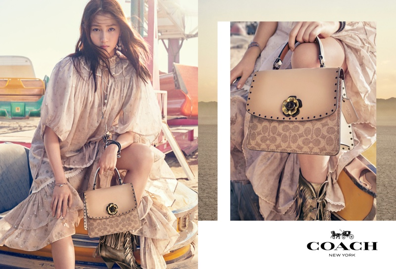 Guan Xiaotong appears in Coach spring-summer 2019 campaign