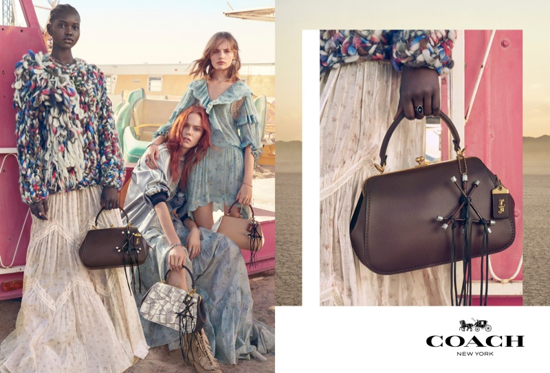Photographed by Craig McDean, Coach shares its spring-summer 2019 campaign