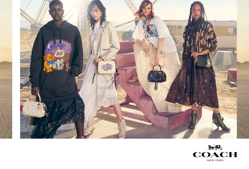 Coach launches spring-summer 2019 campaign