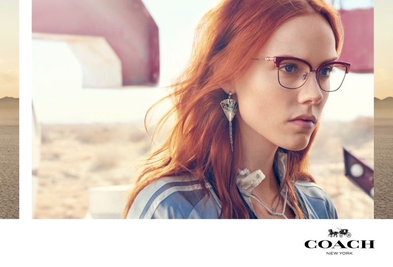 Kiki Willems appears in Coach spring 2019 advertising campaign