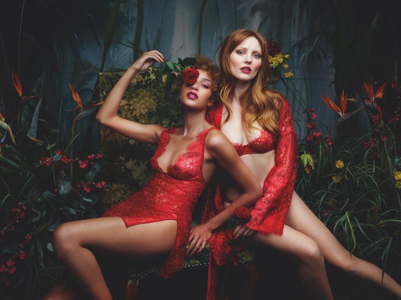 Rankin photographs lingerie brand Coco de Mer's spring-summer 2019 campaign