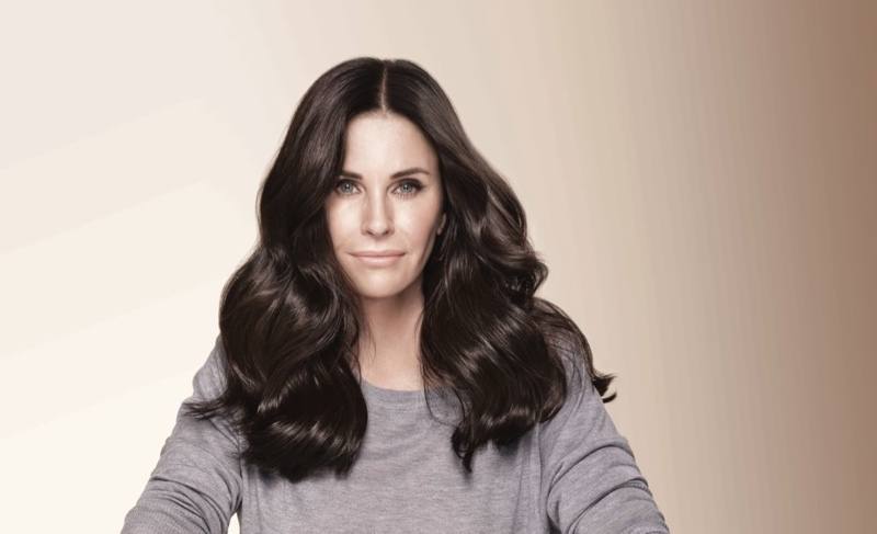 Courteney Cox signs on for L'Oreal Paris Superior Preference Hair Color campaign
