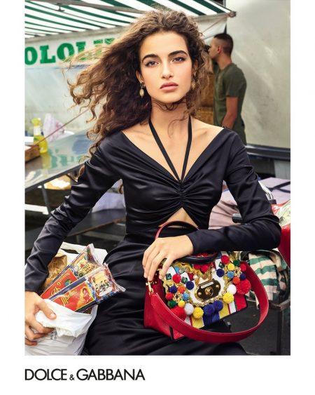 Chiara Scelsi stars in Dolce & Gabbana Accessories spring-summer 2019 campaign