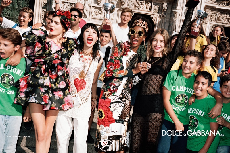 An image from the Dolce & Gabbana spring 2019 advertising campaign. Photo: Angelo Pennetta