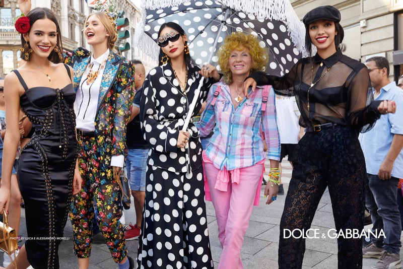 Dolce & Gabbana reveals spring-summer 2019 campaign. Photo: Luca & Alessandro Morelli