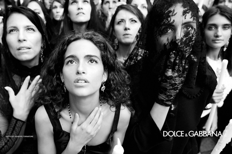 Chiara Scelsi fronts Dolce & Gabbana spring-summer 2019 campaign. Photo: Giuseppe Tornatore