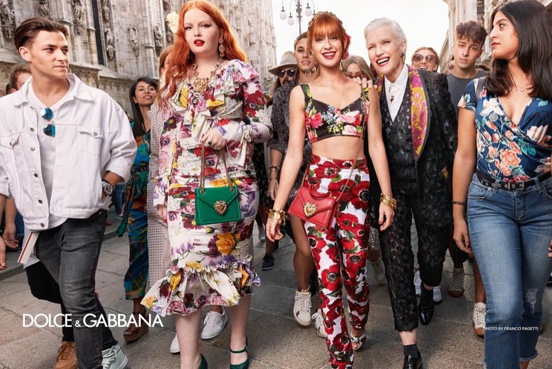 Photo from Dolce & Gabbana spring-summer 2019 campaign. Photo: Franco Pagetti