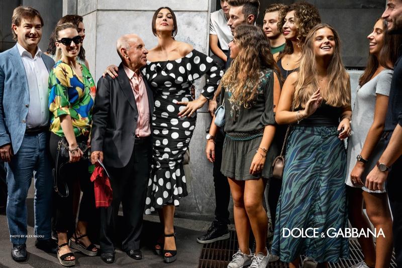 Monica Bellucci fronts Dolce & Gabbana spring-summer 2019 campaign. Photo: Alex Majoli