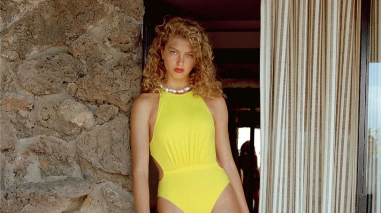 Dorit Revelis Dives Into Swimsuit Season for PORTER Magazine