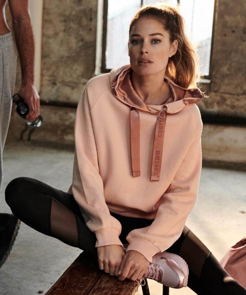 The Dutch model has collaborated with Hunkemoller since 2016