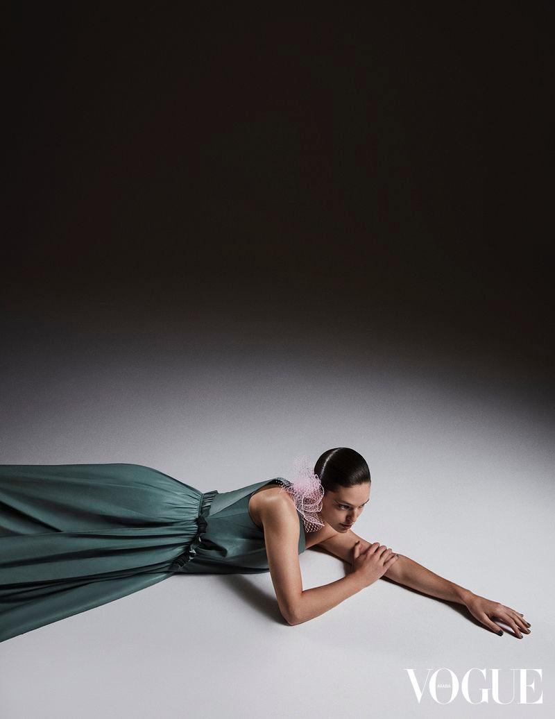 Emily DiDonato Models Fashion Forward Looks for Vogue Arabia
