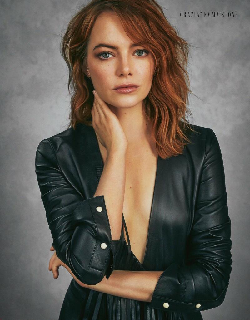 Emma Stone Grazia Italy Cover Photoshoot 2019