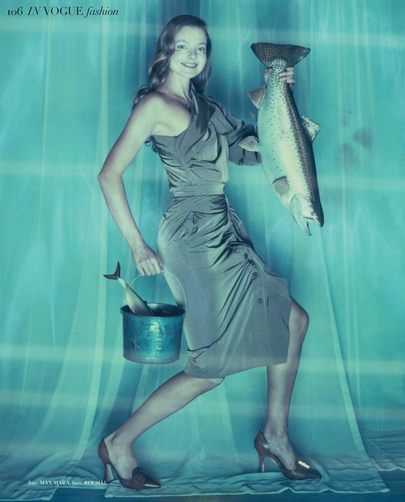 Eniko Mihalik Goes Fishing for Vogue Czech
