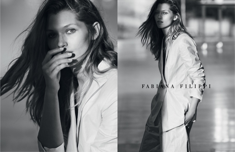 An image from the Fabiana Filippi spring 2019 advertising campaign