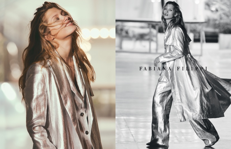 Model Hana Jirickova appears in spring-summer 2019 campaign