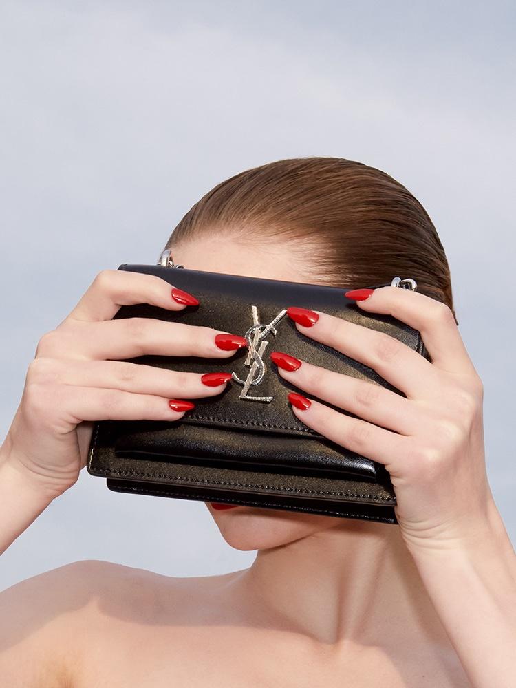 Faith Lynch Embraces Luxe Beauty for Girls. Girls. Girls. Magazine