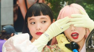 Fernanda Ly & Yuka Mannami Are NYC Girls for Vogue Japan